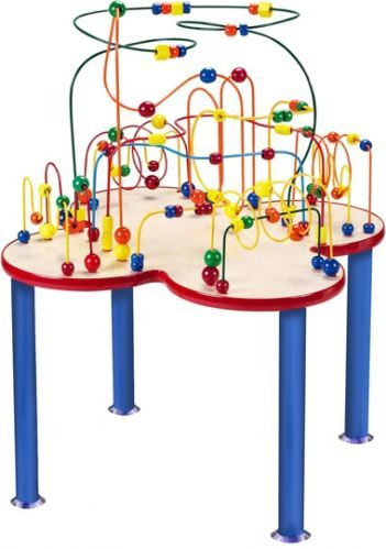 Our Anatex Fleur Rollercoaster Table By Is A Wonderful Children S Activity Center For Doctors Offices Schools And Waiting Rooms