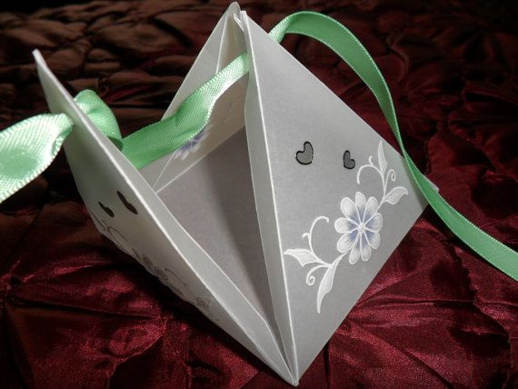 Beautiful handmade parchment craft boxes  by Craftsbylindyloo