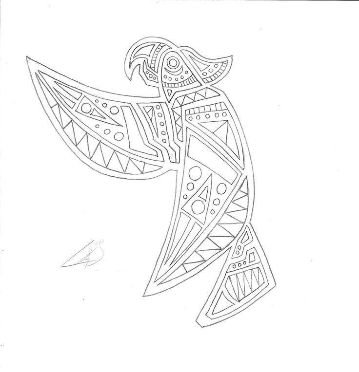 ave precolombina_naturaleza geometrica