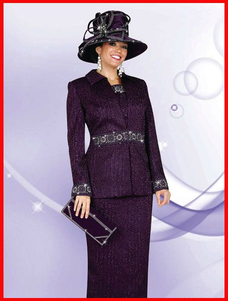 Purple Suit Ladies Fashion Women Ideas For Womens