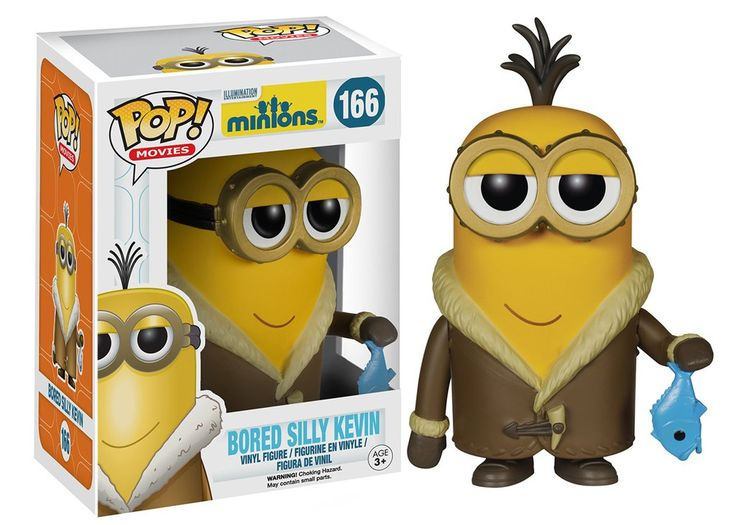 Pop! Movies: Minions - Bored Silly Kevin