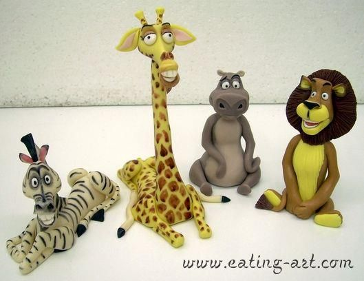 Madagascar!! Great job all though Gloria needs to be a tad bigger