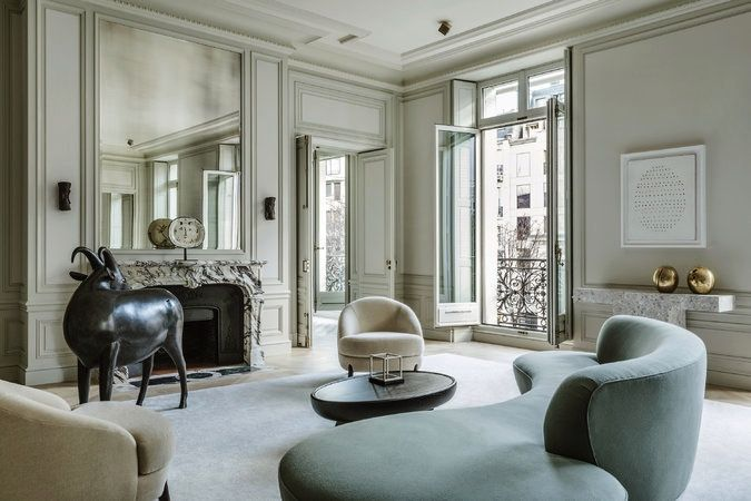 Photos by Martin Morell (Via Times Magazine). Starting my week daydreaming of this beautiful apartment designed by Joseph Dirand. Pure magic!
