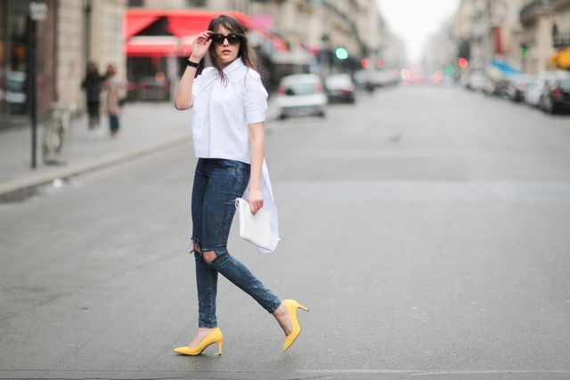 7 Secrets to Wearing Jeans Like French Women: Simplicity is Chic (But Always Add a Special Detail)