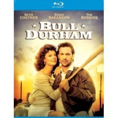 Bull Durham [Blu-ray] (1988), (baseball, baseball movies, sports, blu-ray, kevin costner, baseball movie, romance, drama, charlie sheen, field of dreams blu ray)