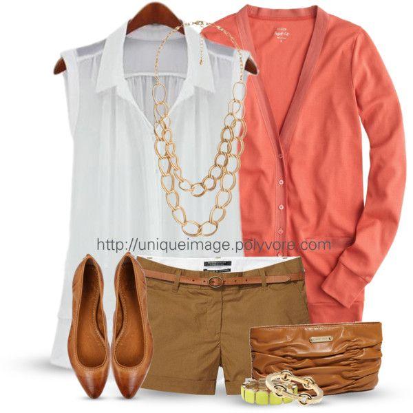 Coral Spring Shorts Set :)