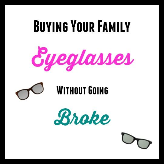 You pay tons of money for glasses and your kids end up breaking them! This post provides an inexpensive way of buying your family eyeglasses!