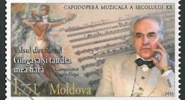 Eugen Doga-Timbrul Posta Moldovei-Vals-1marti2015