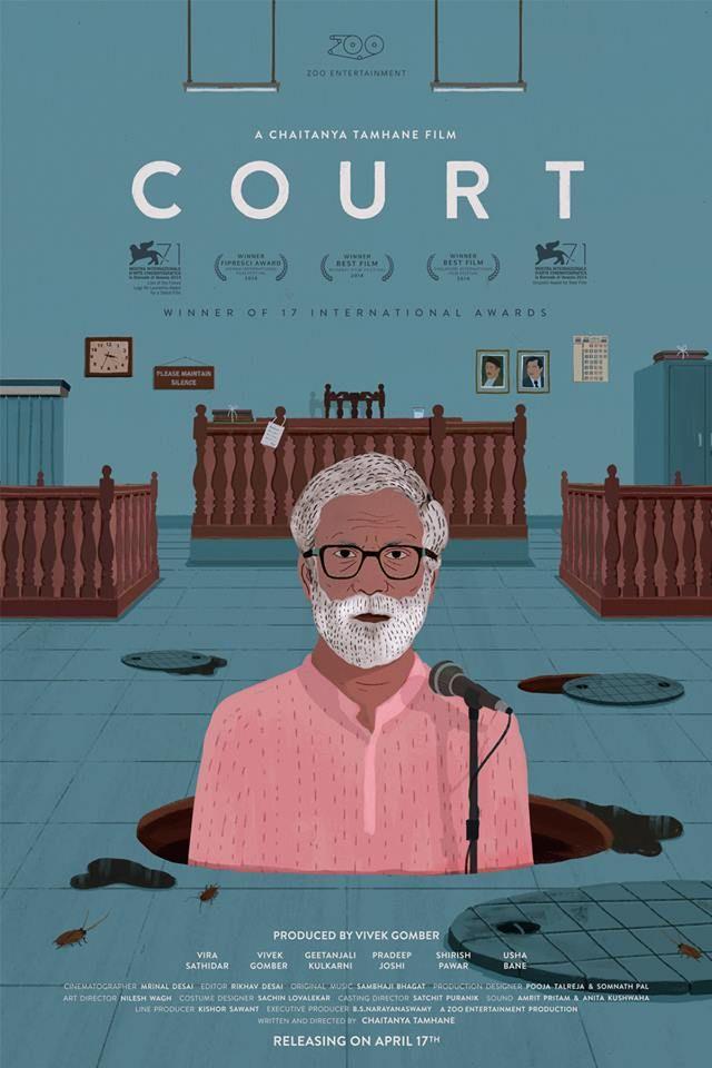 National & International Award winning Marathi film 'Court'. Directed by Chaitanya Tamhane, Releasing soon. More details @  @ http://bit.ly/1FE8GTg