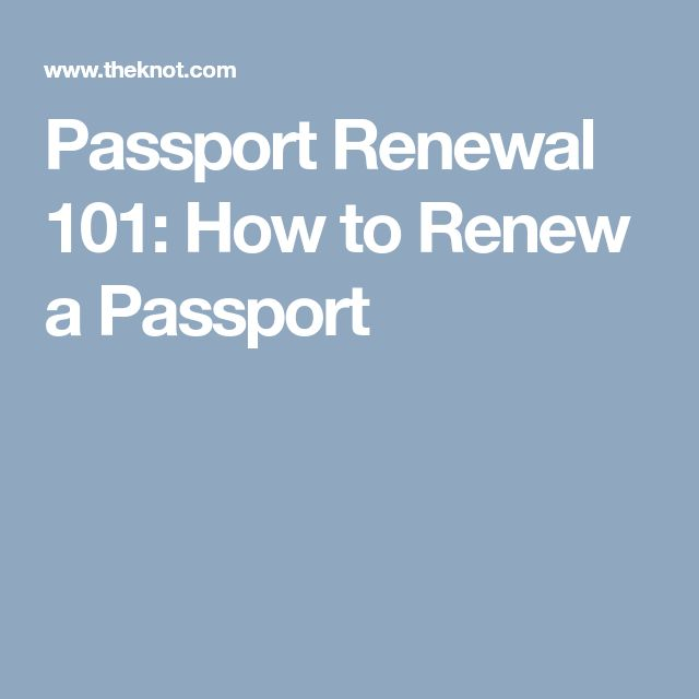 Best  Where To Renew Passport Ideas On   Renewal Of