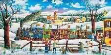 Elio Nava, Asiago, il trenino della neve
