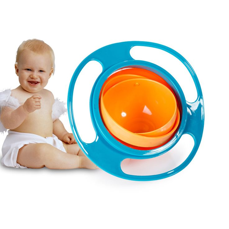 The New Baby Safe Non-toxic, High Temperature Resistant, Lovely Shape, Durable 360 Degree Swivel UFO Balance Bowl //Price: €8.64 & FREE Shipping //   #fashion #baby #clothes #trendy #2017