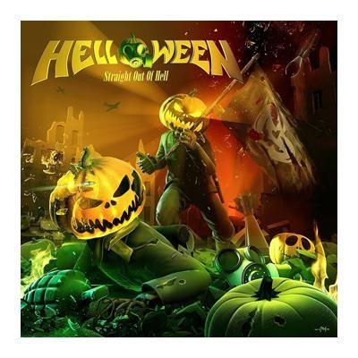 """Esclusiva EMP! Il quattordicesimo album degli #Helloween intitolato """"Straight Out Of Hell"""" include una toppa."""