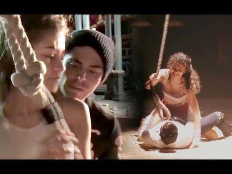 All Zac Efron & Zendaya Behind the Scene/Rehearsal moments - YouTube