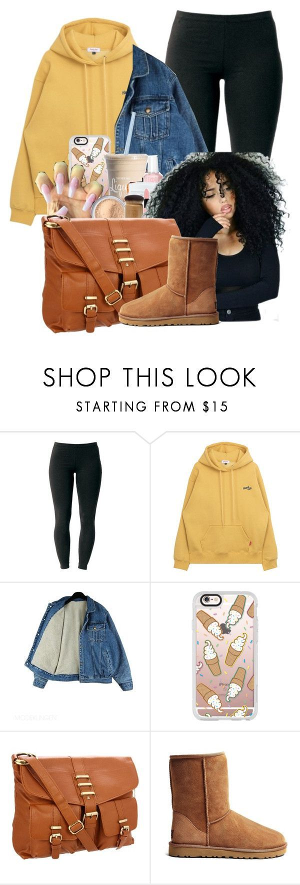 """Why Bother ?"" by melaninprincess-16 ❤ liked on Polyvore featuring Joe Browns, Casetify, Big Buddha and UGG Australia"