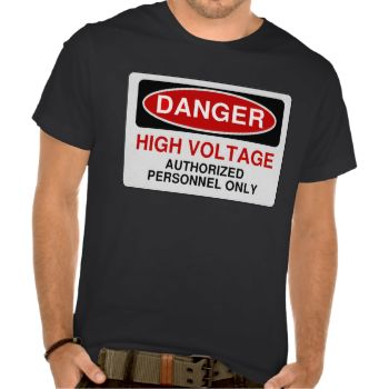 Danger High Voltage. Authorized personnel only #danger #warning #high #voltage #funny #humor #unique #electrician #different #warning #sign #keep #clear #electricity #danger #sign #emergency #volts #energy #technicians #power #plant #electrical #keep #away #stay #away