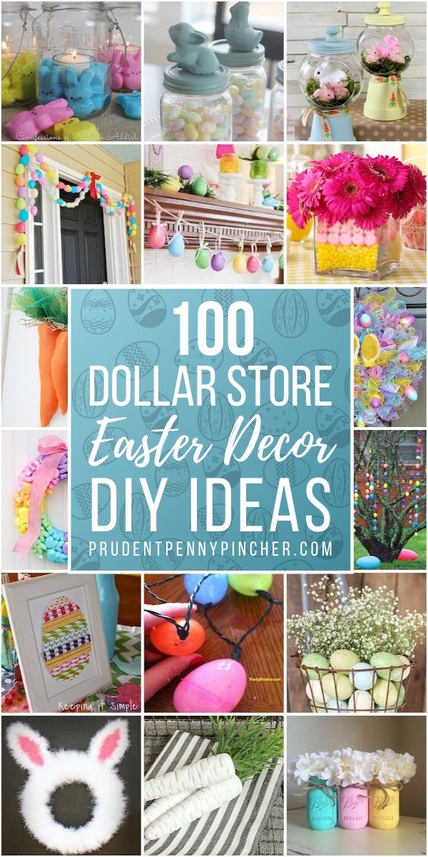 100 Dollar Store Diy Easter Decorations Easter Crafts Dollar Store Dollar Tree Easter Crafts Easter Decorations Dollar Store