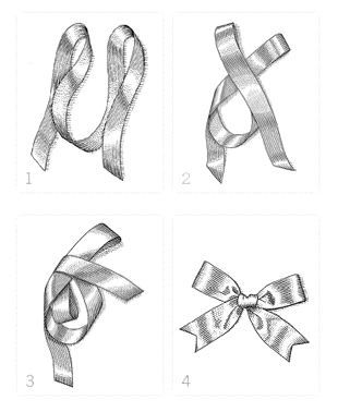 How to tie a perfect bow. Anyone who knows me will know how much I need this because I tie the worst bows!