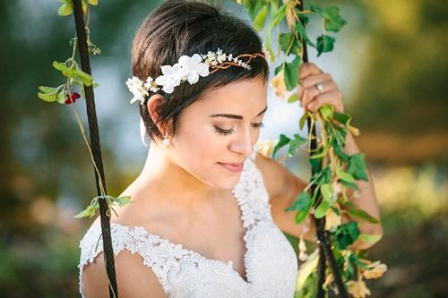 A BEAUTIFUL LITTLE LIFE: Perfect PIXIE Haircuts Part 4: 31 Brides with Pixie Cuts