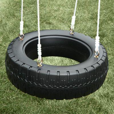Swing-n-Slide Classic Tire Swing & Reviews | Wayfair