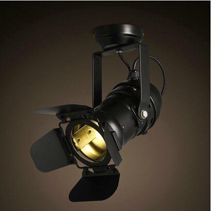 Loft RH American Spotlight Industrial Ceiling Lamp