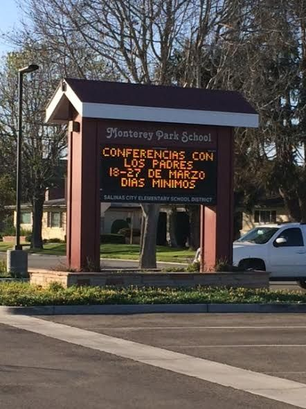 In less than one month, four students at Monterey Park School have been diagnosed with pertussis, or whooping cough.
