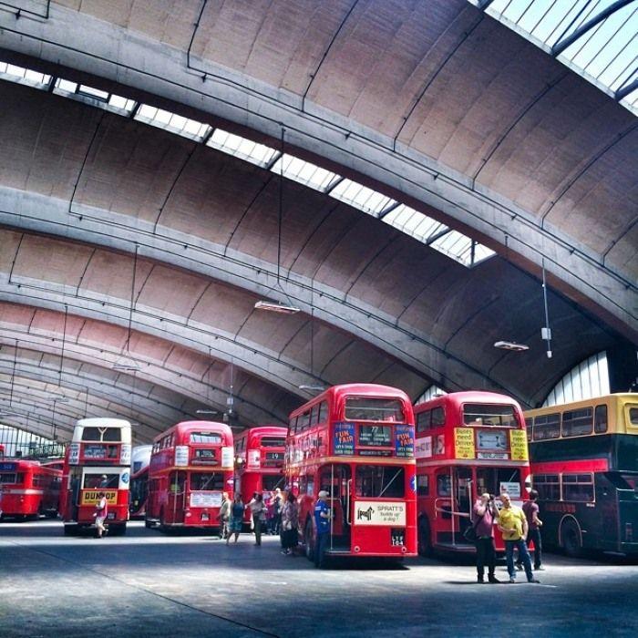 Stockwell Bus Garage, London