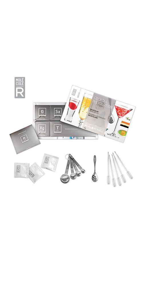 Molecule-R Kit de cuisine Moléculaire Aroma ou Cocktail R-EVOLUTION