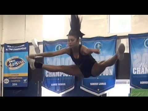 Cheer Tryout DAY Cheer Extreme 2014 - YouTube