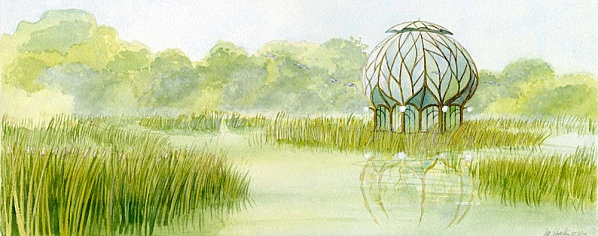 Francois Schuiten: Vegetal House