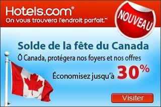 Hotels: Solde de la fête du Canada! Économisez jusqu'à 30%  http://www.groupvaudreuil.com/toutes-les-offres/canada-hotels-economisez-jusqua-30