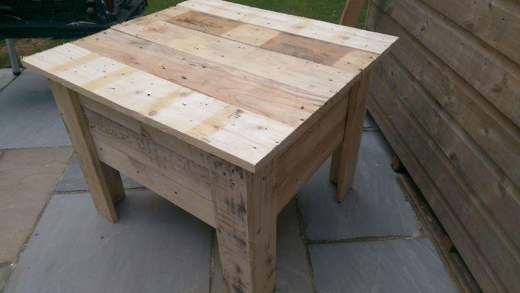 Pallet Sandbox With Lid