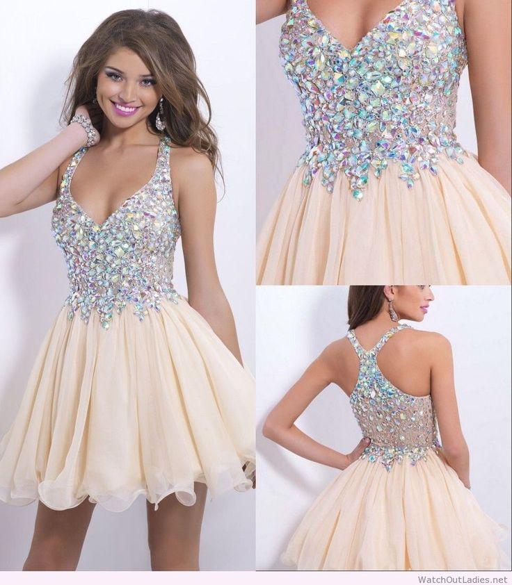 The 25  best ideas about Cream Short Dresses on Pinterest | Cotton ...