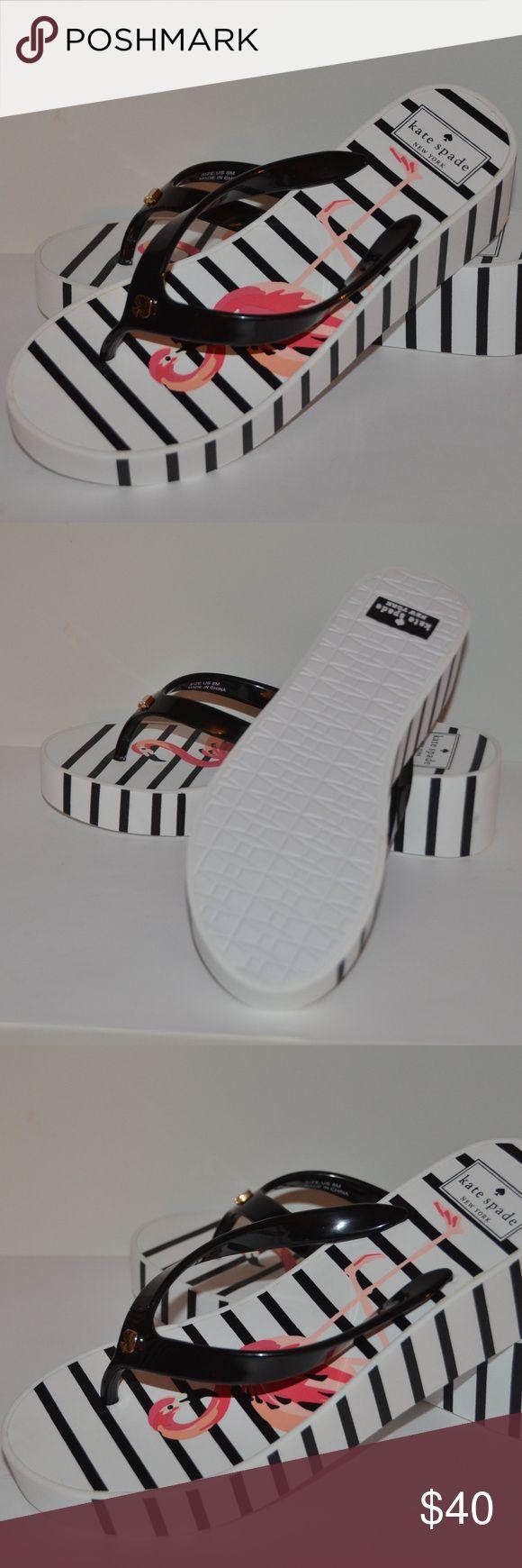 KATE SPADE FLAMINGO PLATFORM FLIP FLOPS SIZE 8 KATE SPADE FLAMINGO PLATFORM FLIP FLOPS SIZE 8 NEW WILL BE SHIPPED IN PRIORITY BOX, NOT IN ORIGINAL BOX kate spade Shoes Sandals