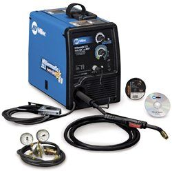 The MILLER MILLERMATIC 211 AUTO-SET MIG WELDER offers a breakthrough control that automatically sets your welder to the proper parameters