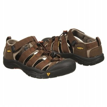 Keen Newport H2 Tod/Pre Sandals (Slate Blk/Burnt Henn) - Kids' Sandals - 13.0 M