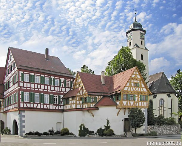 My mother's hometown of Laichingen, Germany
