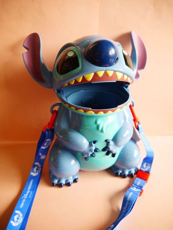 New Tokyo Disneyland Disney Lilo and Stitch Popcorn bucket container Japan #Disney