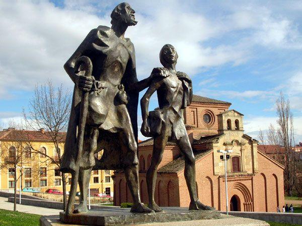 Estatua dedicada al Lazarillo de Tormes (Salamanca)