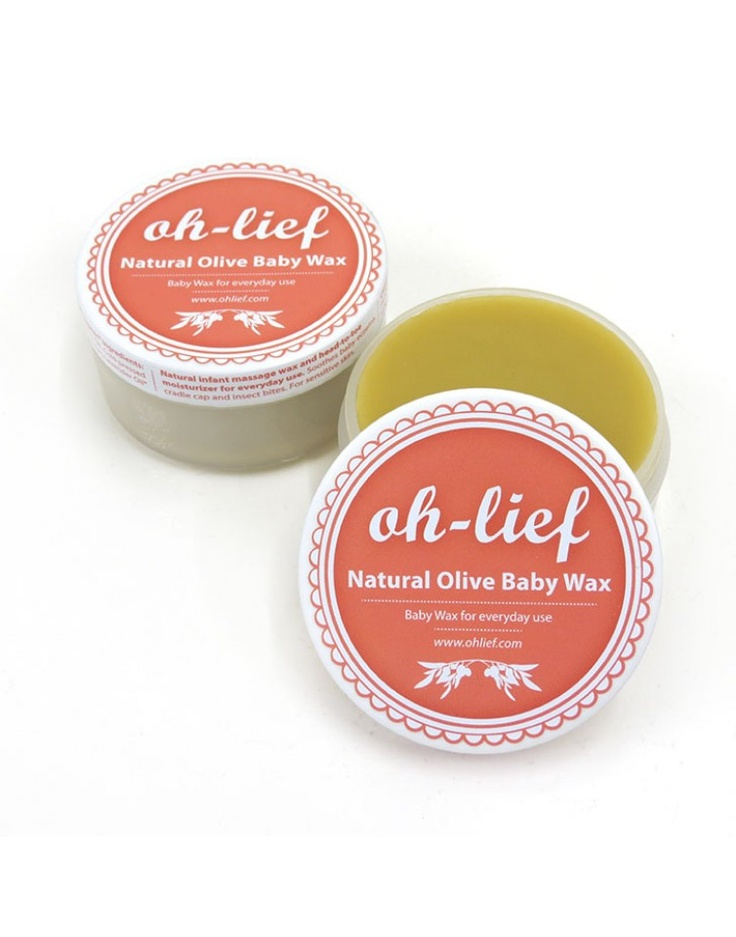 OH LIEF | Natural Olive Baby Wax 125g | Bath and Skin Care | kinderelo.co.za