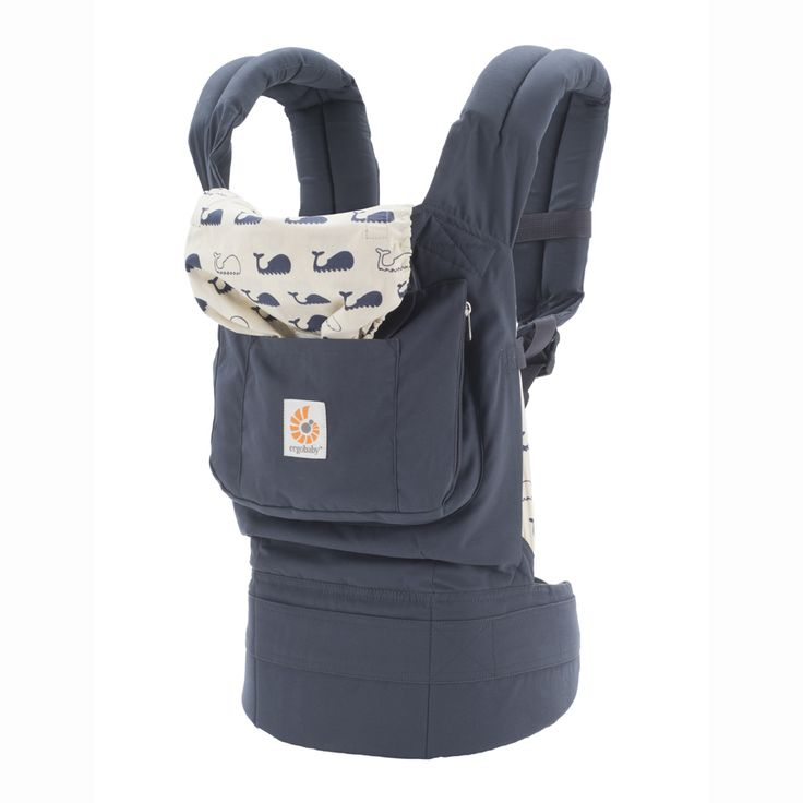 4cad9bb3cfc9 Ergo Baby Original Marine Baby Carrier with Natural Insert The  award-winning Original Collection has the comfort and ergonomics that made  our name.