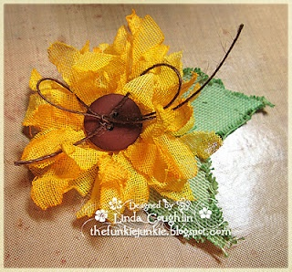 TUTORIAL - Handmade Flowers - Sunflower