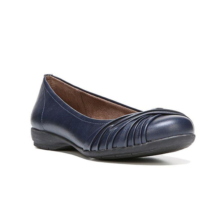 NaturalSoul by naturalizer Girly Women's Ballet Flats, Size: medium (8.5), Dark Blue