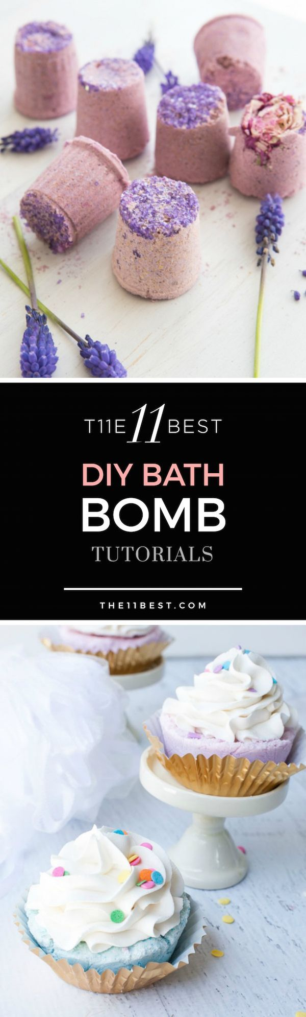 Use these bath bomb recipe ideas to create a nice spa bath for yourself or give them as a gift!