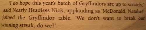 "This line can be found on Page 159 of the British edition of the book. | Did You Know About The Incredibly Moving Tribute In ""Harry Potter And The Goblet Of Fire""?"