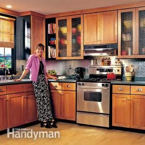 132 best images about the kitchen on pinterest for Cheap way to refinish kitchen cabinets