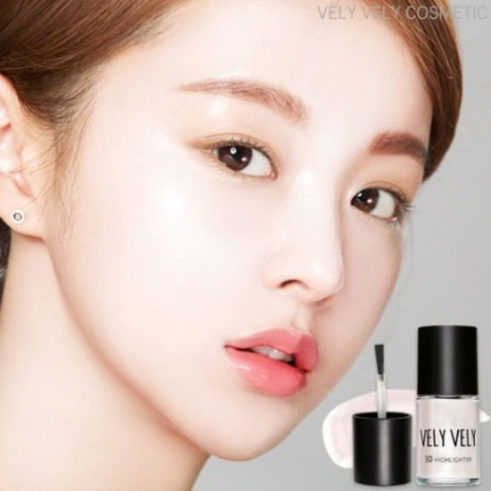 Korea Cosmetic IMVELY Vely Vely 3D Highlighter 13ml Pearl Liquid Highlighter 1EA #IMVELYVelyVelyKBeauty