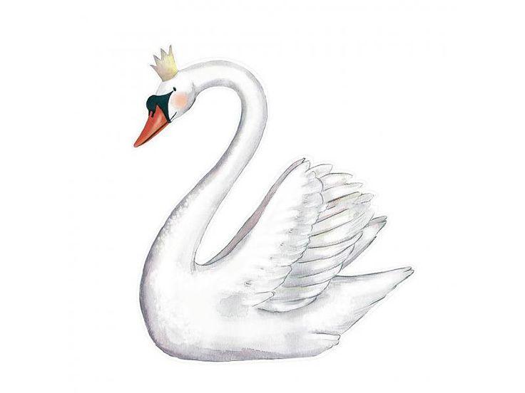 Swan #wallsticker #muursticker | Hartendief