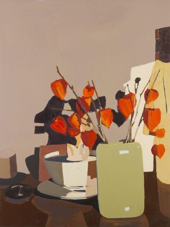 Vase and African Figure. Fælledvej | Erik A Frandsen