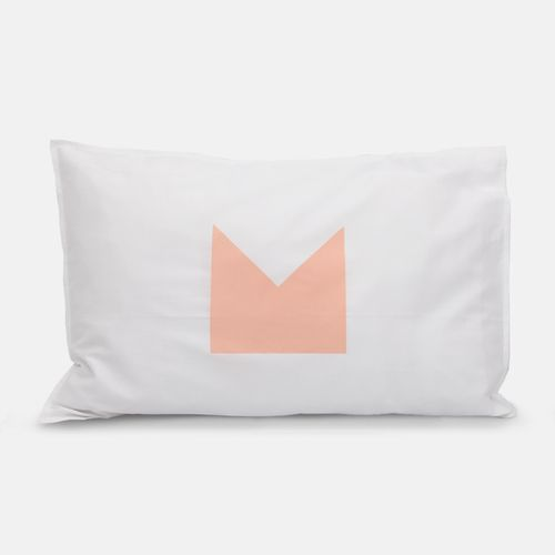 Peach vs Floss Crown Pillowcases   Jennifer + Smith